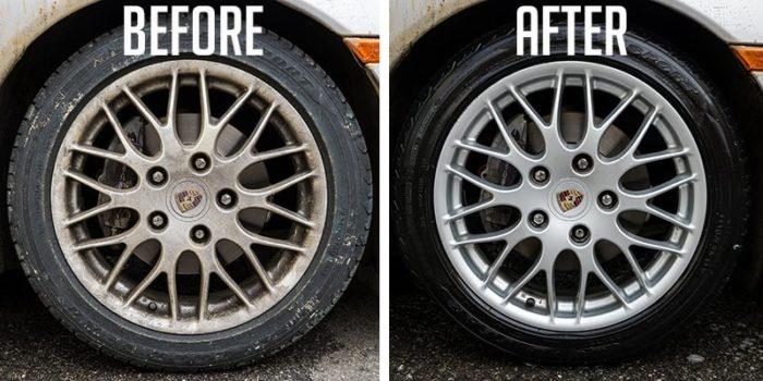 Alloy wheel polishing & Coating